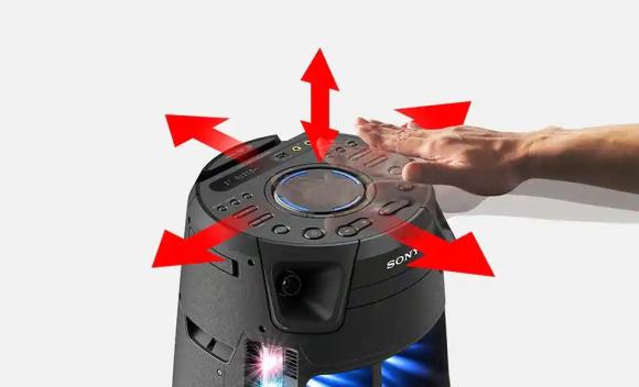 Sony Bluetooth Audio System V43D High Power MHC-V43D