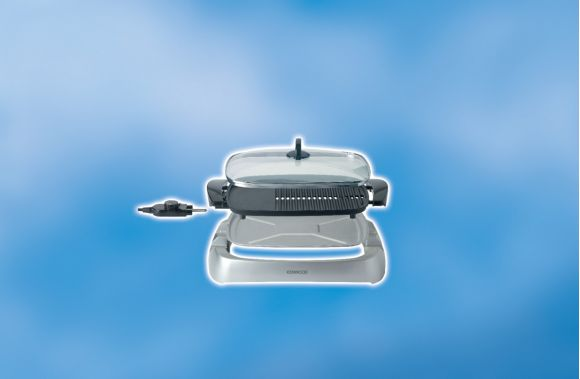 Kenwood Barbeque Health Grill 2000w HG266
