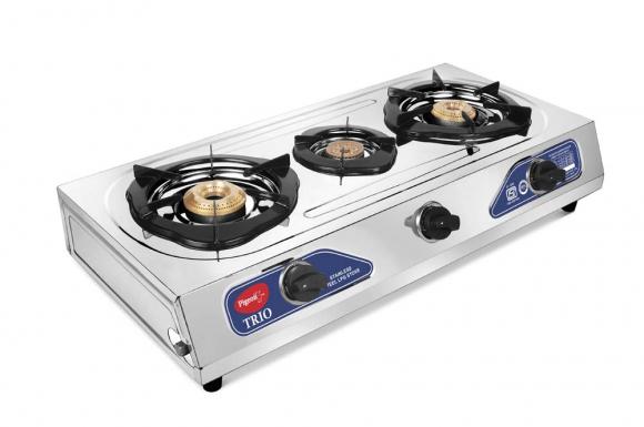 Pigeon Gas Cooker 3 burner Trio