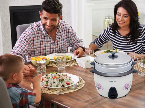 Nikai Rice Cooker 2.2L 850w NR673N (Bad Box)