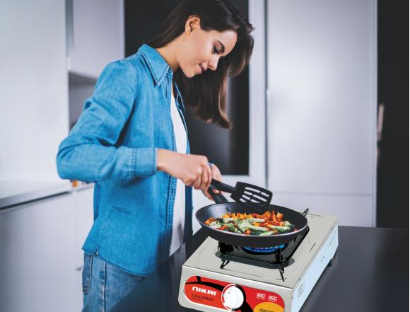 Nikai Gas Cooker 1 Burner NG843