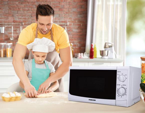 Nikai Microwave 20L Manual 700w NMO515N9A
