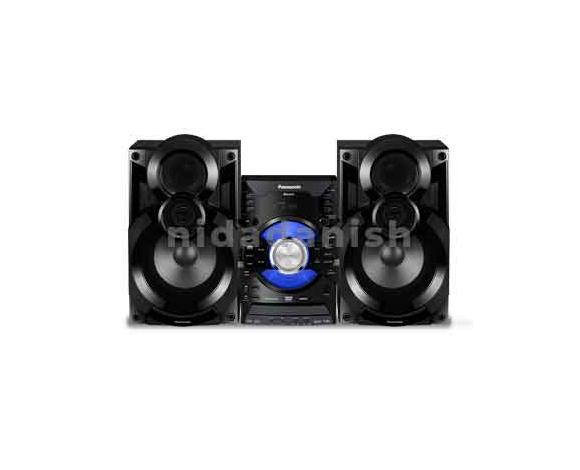 Panasonic HI-FI with HDMI 6000W DVD CD MP3 BT 2 XUSB SC-VKX65GS-K