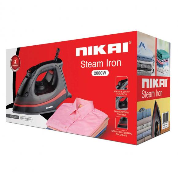 Nikai Steam Iron 2000w NSI702CS