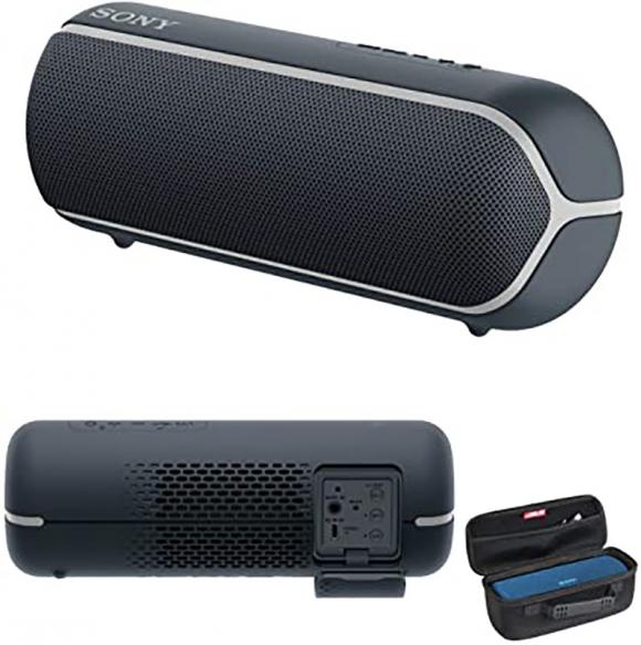 "Sony Wireless Speaker 1.65"" NFC Bluetooth Extra Bass 12hr Battery Water Resistant SRS-XB22"